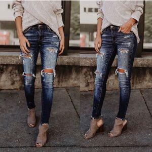 Denim - 🌟Restocked🌟 🌸Distressed Skinny Jeans